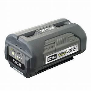 Batterie Ryobi 36v : ryobi 36v 2 6ah hi tech battery bunnings warehouse ~ Farleysfitness.com Idées de Décoration