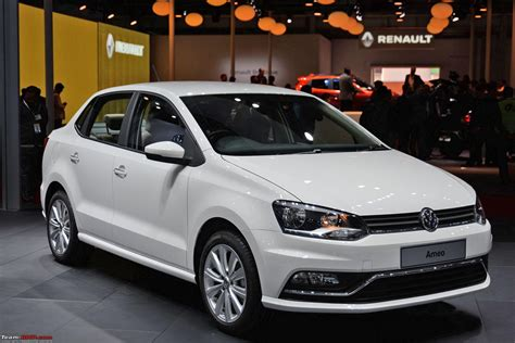 Volkswagen Ameo Auto Expo 2016 Edit Starts At Rs 5 14