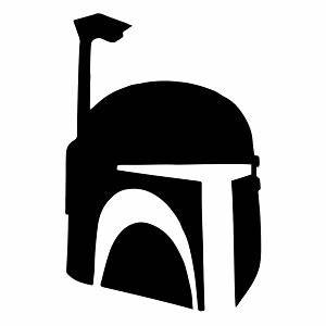 boba fett helmet silhouette vinyl sticker car decal With kitchen colors with white cabinets with boba fett sticker