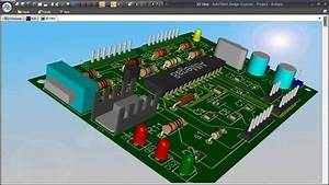 Schematic  Simulation  Pcb Design And Solid Modeling