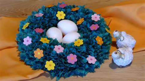 ostern mit kindern basteln basteln f 252 r ostern osternest osterk 246 rbchen easter basket basteln mit kindern