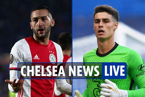 21:00 h Chelsea News LIVE: Werner at goal, late ...