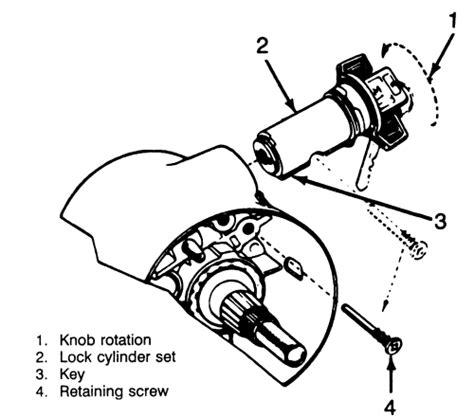Repair Guides Steering Lock Cylinder Autozone