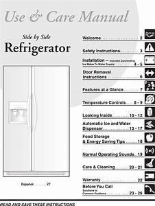 Frigidaire Refrigerator 241553001 User Guide