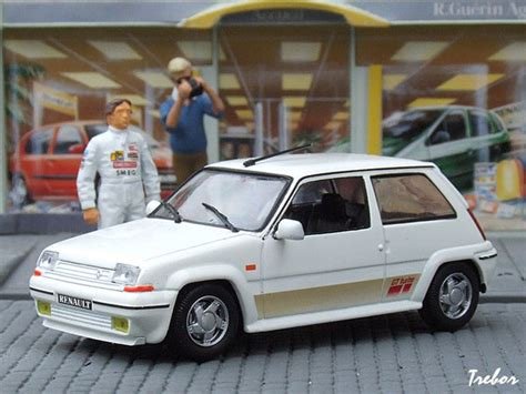 siege 5 gt turbo miniature 1 43ème renault 5 gt turbo