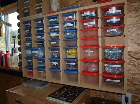 garage storage  small parts courtesy  kmtsilvitech