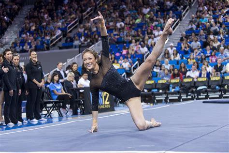 gymnastics defeats stanford  season high score