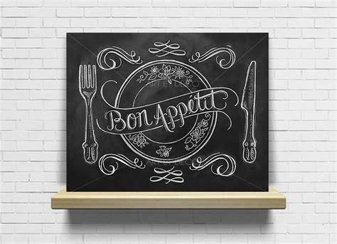 tableau ardoise deco cuisine tableau bon appé cuisine ardoise tableau à craie décorations murales par artdeco28