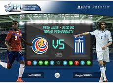 Betting tips for Costa Rica v Greece Predicted lineups