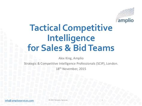 competitive intelligence report sle 28 images fcci