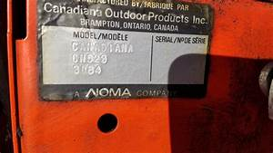 Trying To Find Service Manual For An Old Canadiana Noma
