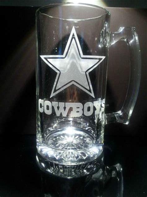 etched dallas cowboys beer mug ebay dallas cowboys