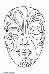 Mascaras Venecia Parapintarycolorear Fiestas Recortables Venecianas sketch template