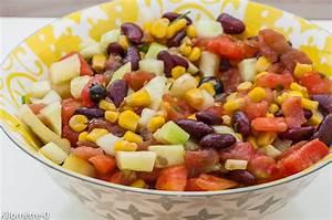 recettes salades ete faciles With idee deco entree maison 16 gateau salade de riz composee recettes faciles recettes