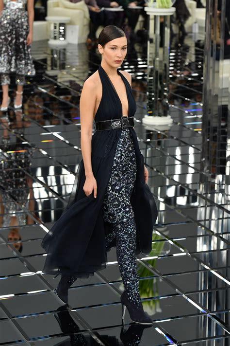 Bella Hadid - Walks The Runway For Chanel in Paris 1/24 ...
