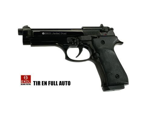 Pistolet D'alarme Automatique Tir Rafale
