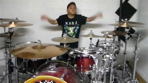 Mana-angel De Amor Drum Cover By Christopher