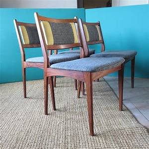 4er Set Stühle : palisander st hle 1960er 4er set bei pamono kaufen ~ Indierocktalk.com Haus und Dekorationen