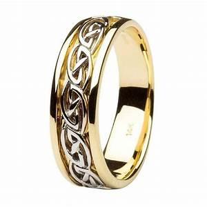 Gents Wedding Ring Celtic Knot Design