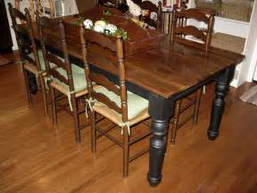 HD wallpapers distressed black dining sets