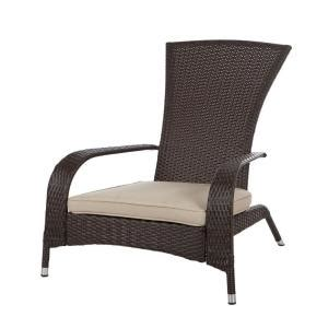 patio sense coconino all weather wicker patio adirondack