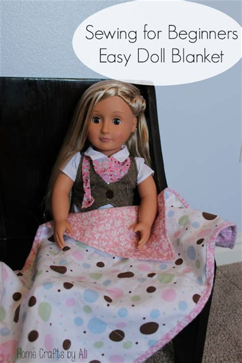 sewing  beginners easy doll blanket home crafts  ali