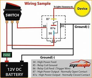 Wiring 5 Pin Relay Bosch 5 Pin Relay Wiring Diagram For 717
