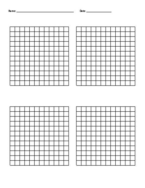 Math Grids Worksheets  Hundredths Grid Decimals Worksheet4th Grade Math Worksheets Coordinate