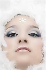 Winter Ice Queen Makeup