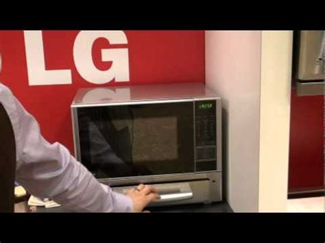 lg toaster combo lg s new microwave toaster combo demo