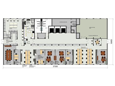 restaurant le bureau plan de cagne plan des bureaux immeuble de bureaux de plan illustration
