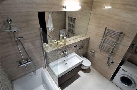 Kleines Badezimmer Fenster by Wohnidee Badezimmer Kleines Bad Ohne Fenster Beige Fliesen