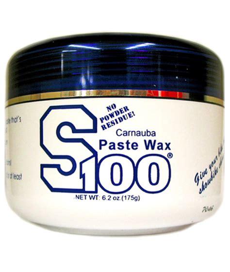 S100 Carnauba Paste Wax - MUS20032