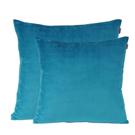 Turquoise Toss Pillows by Soft Decorative Throw Pillow Solid Cushion