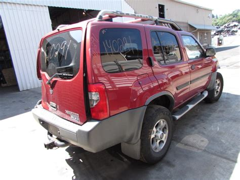 2001 Nissan Xterra Parts by Parting Out 2001 Nissan Xterra Stock 140291 Tom S