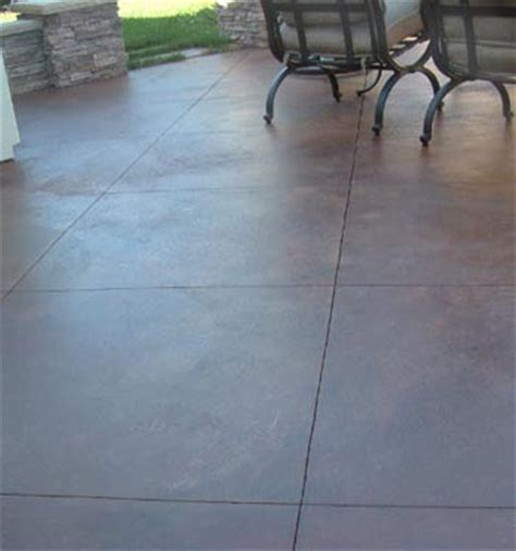 sted stained concrete landscape design folsom california