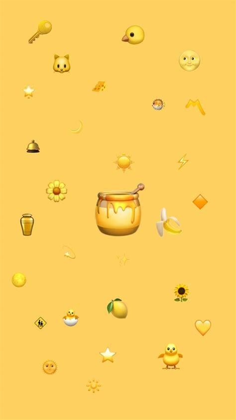 aesthetic yellow wallpapers