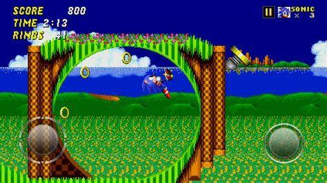 sonic  hedgehog  classic    android