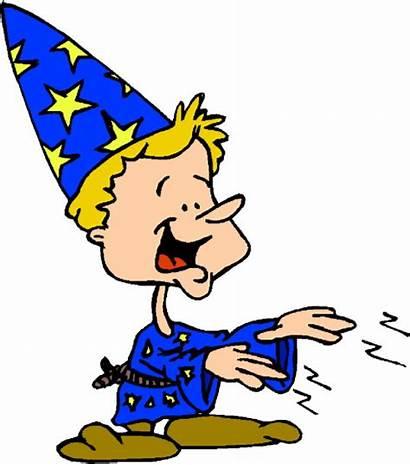 Magic Clip Tricks Clipart Magician Cartoon Entertainment