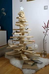 Weihnachtsbaum Aus Holzlatten : holz weihnachtsbaum selber machen ~ Frokenaadalensverden.com Haus und Dekorationen