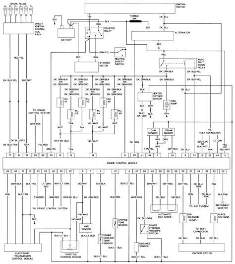 1994 Peterbilt Dash Wiring Diagram Schematic by 93 Chrysler Lebaron Fuse Box Wiring Library