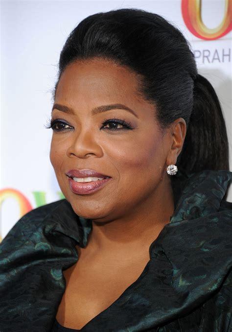 oprah winfrey ponytail oprah winfrey hair  stylebistro