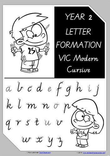 year  handwriting letter formation uppercase