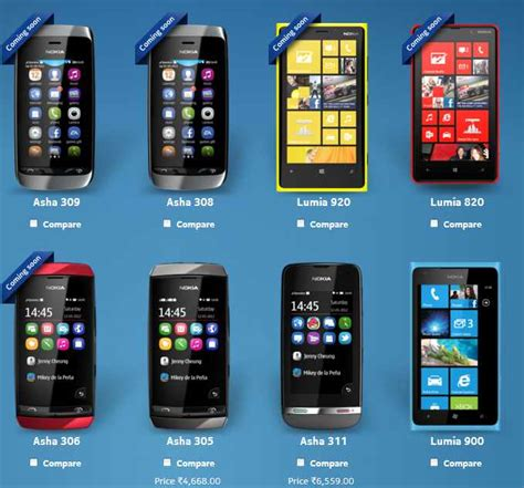 nokia lists lumia 920 and lumia 820 as coming soon to us and india
