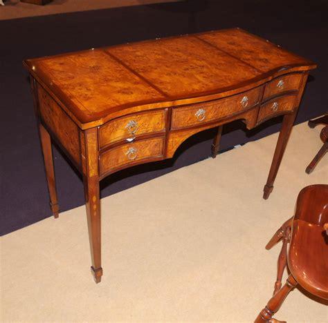 bureau writing desk george ii writing desk bureau serpentine desks burl walnut
