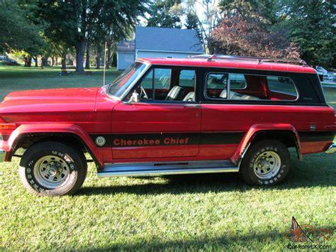 1979 jeep cherokee chief 1979 jeep cherokee chief 4x4 360 v8 automatic 40500