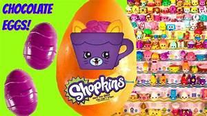 Shopkins Season 4 Chocolate Surprise Eggs! Can We Complete ...