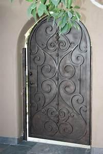 porte dentree en fer forge porte en fer porte en With la maison du fer forge 0 porte en fer forge plus de 40 modales fascinants