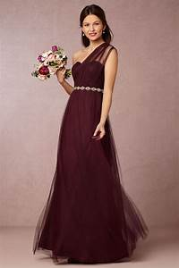 burgundy bridesmaid dresses dresscab With burgundy dress for wedding