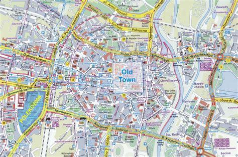 Карты Познани (Польша). Подробная карта Познани на русском языке с отелями и достопримечательностями